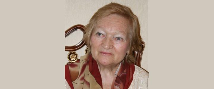 Поздравляем с 90-летним юбилеем Тамару Семеновну Комарову!