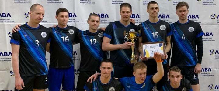 Мужская сборная МПГУ, усиленная несколькими легионерами, победно завершила гибридный турнир сезона 2020-2021 года Любительской лиги Москвы