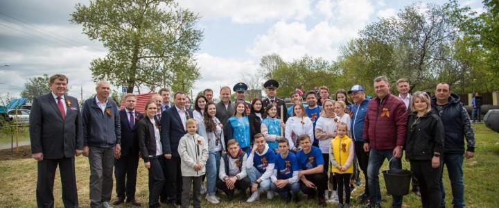 В День Победы в Анапе заложили ещё один «Сад памяти»