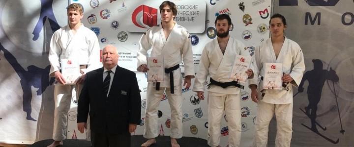Студенты МПГУ на Московских студенческих спортивных играх по Дзюдо заняли 1 и 3 место в весовой категории 81 кг