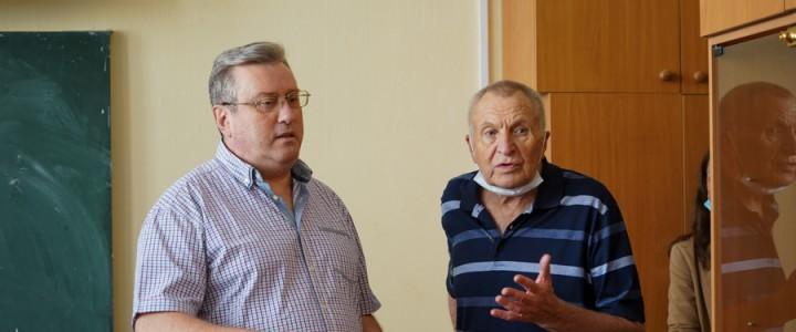 Режиссер Андрей Смирнов посетил МПГУ