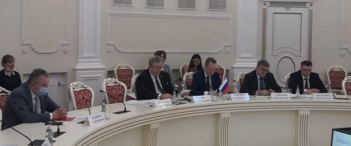 Заседание Межведомственного совета по присуждению премий Правительства Российской Федерации в области образования
