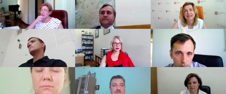 Учебно-методическое управление организовало встречу обучающихся МПГУ и директоров школ Калининградской области