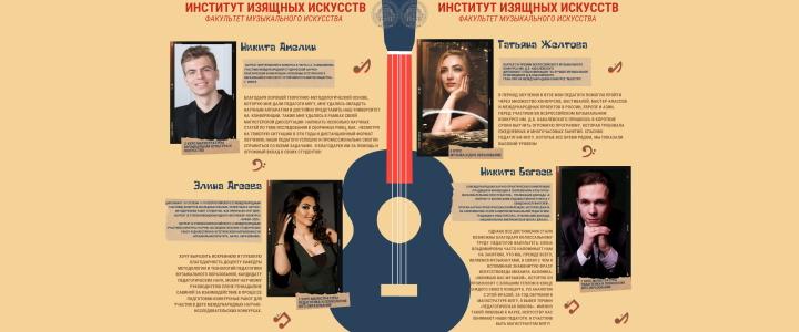 «ЛУЧШИЕ»: Факультет музыкального искусства