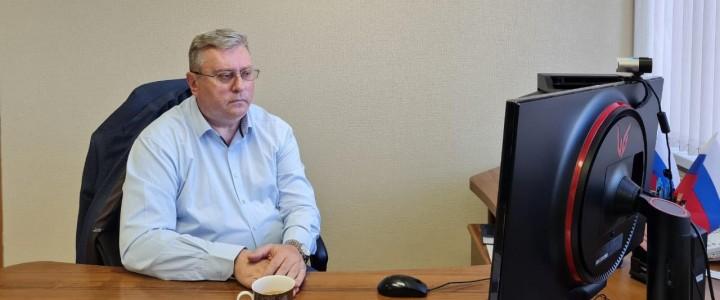 Алексей Лубков принял участие в очередном заседании Совета Российского союза ректоров