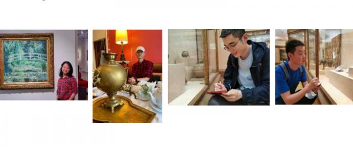 ХГФ: отчёт китайской группы студентов по изучению русской культуры и современного искусства России
