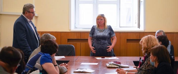 Ректор Алексей Лубков принял участие в заседании Ученого совета Института филологии