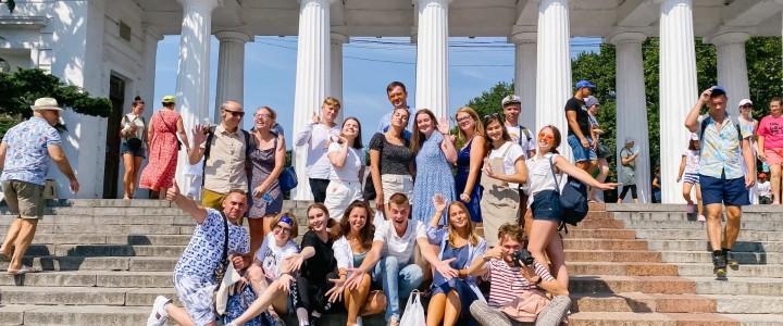 Летний отдых студентов МПГУ в Крыму продолжается