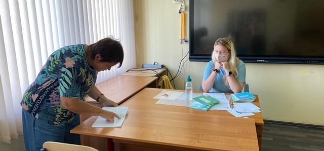 Студенты ИМИ МПГУ приняли участие в проведении квалификационной работы для учителей математики в рамках проекта «Математическая вертикаль»
