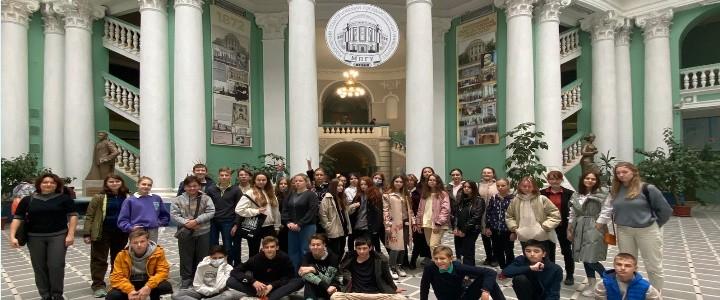 Московские школьники в гостях у МПГУ
