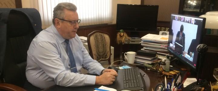 Ректор МПГУ принял участие в обсуждении мер поддержки молодых талантов