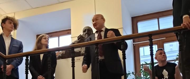 Чтение стихов о Москве на «Философской лестнице» в Доме Лосева