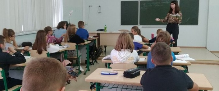Студенты 5 курса Института филологии вышли на производственную, педагогическую практику