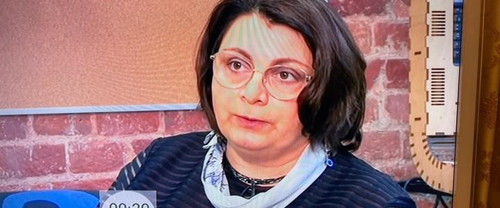 Елена Николаевна Приступа в программе «Доброе утро» на Первом канале