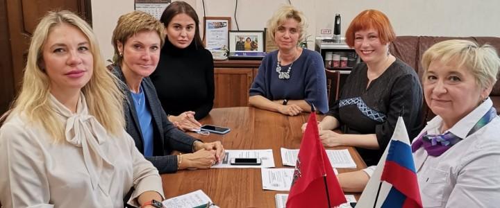 Новый адрес сотрудничества:  коллектив МПГУ посетил ГБОУ города Москвы Школа «Тропарево»