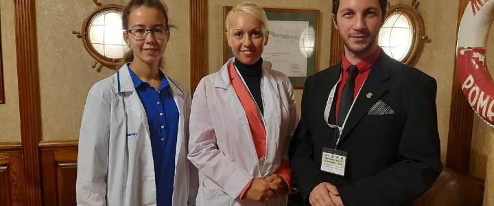 Сотрудники кафедры биохимии, молекулярной биологии и генетики на Фестивале науки и культуры