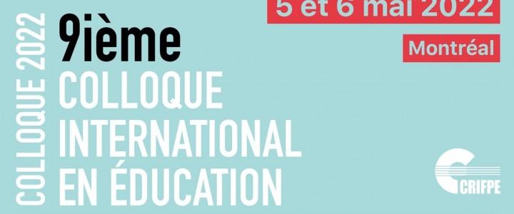 9 -я Международная конференция по вопросам образования в Монреале (Квебек, Канада)