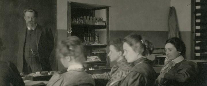 В.И. Вернадский – первый избранный директор Московских высших женских курсов