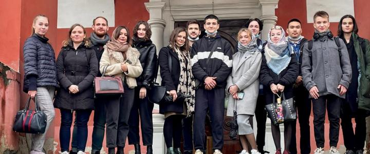 Экскурсия студентов Колледжа МПГУ в Высоко-Петровский монастырь