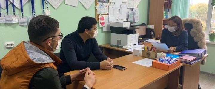 Анапский филиал МПГУ в рамках антитеррористической безопасности и защищенности объектов (территорий) образования продолжает проводить беседы с обучающимися Центрально-Азиатских стран