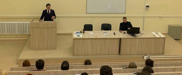 Студенты ИМИ посетили Молодежный парламент города Москвы