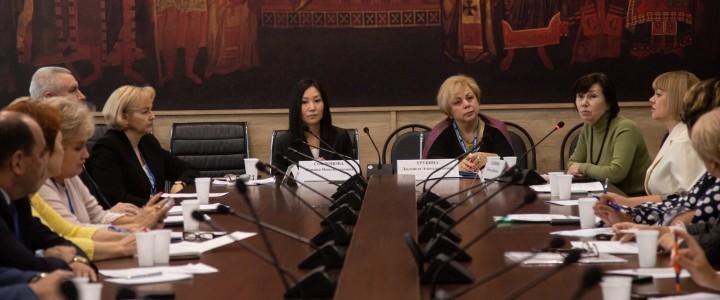 В рамках педагогического форума прошла встреча Министерства просвещения с руководителями педагогических профессиональных образовательных организаций