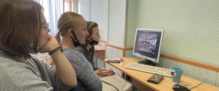 22 октября  студенты первого курса специальности «Преподавание в начальных классах» Колледжа  побывали в гостях у лицеистов МПГУ