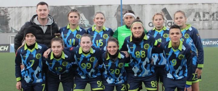 Женская сборная МПГУ по футболу одержала победу над сборной  МГПУ