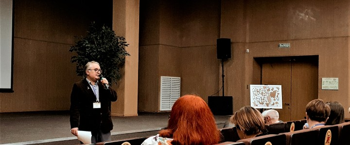 Сергей Викторович Мелков представил IV раздел (Гражданская идентичность будущего учителя и его воспитанников) рабочей программы дисциплины вариативного модуля: «Формирование гражданской идентичности будущего учителя России» для преподавателей педагогических колледжей.