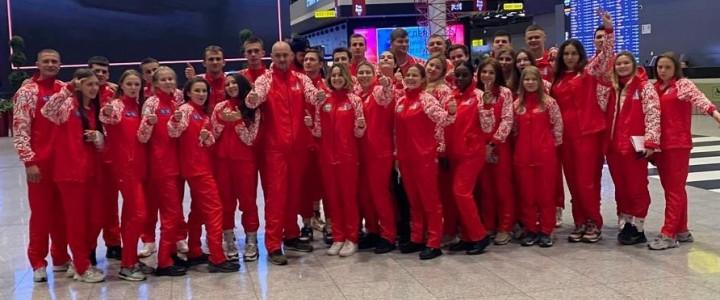 Команда МПГУ по настольному теннисув составе сборной команды Москвы примет участие в XI Фестивале студенческого спорта