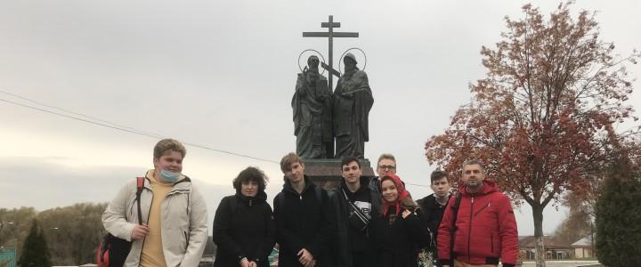 Студенты на экскурсии в Коломне